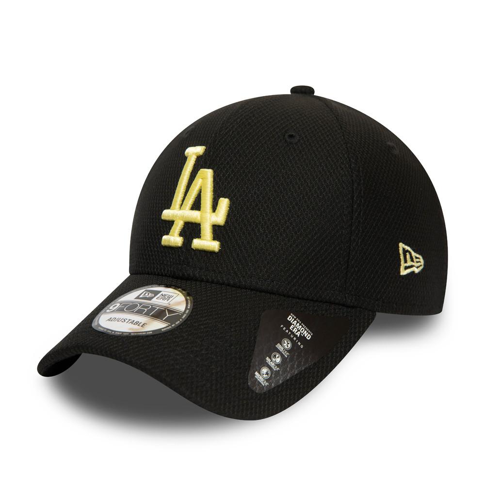 Casquette 9FORTY Diamond Era noire des Dodgers de Los Angeles pour femmes