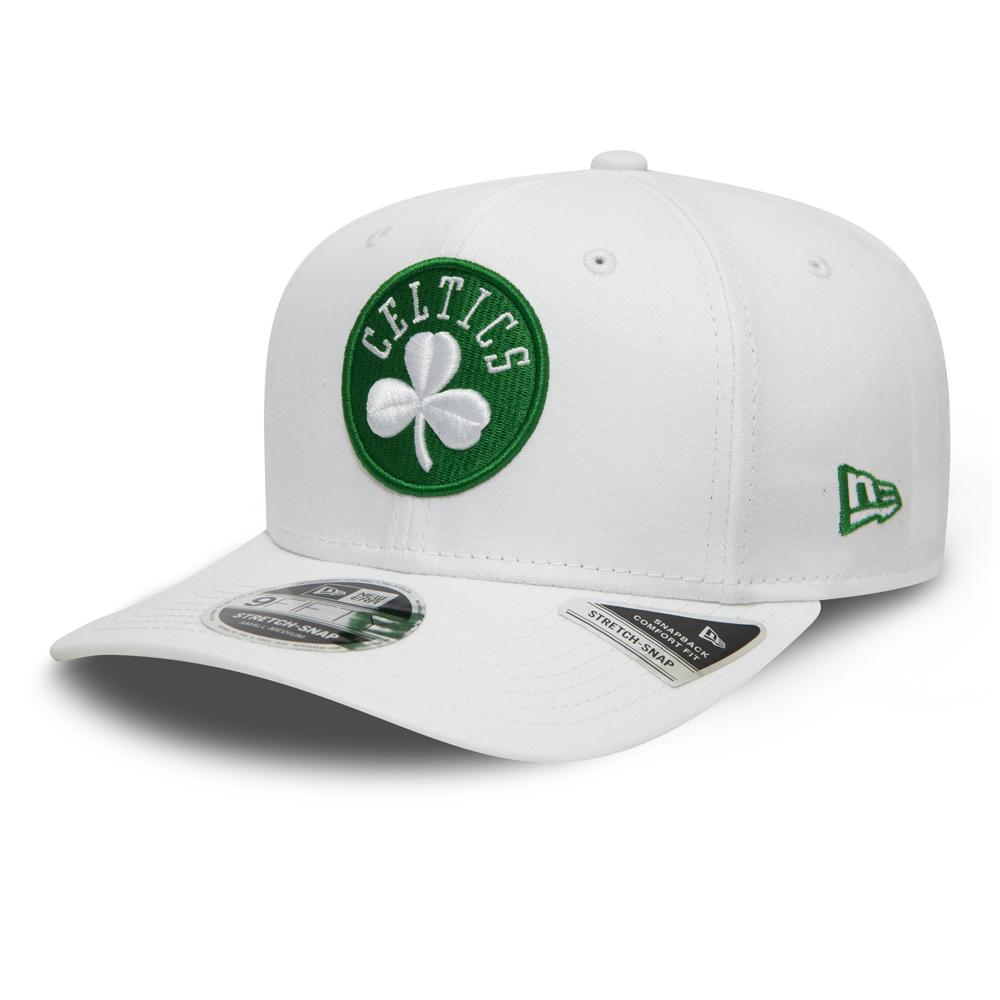 Caquette 9FIFTY Stretch Snap White Base Boston Celtics