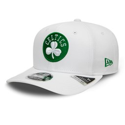 Boston Celtics – 9FIFTY-Kappe mit Stretch Snap – Weiß