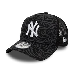 New York Yankees – Hook – Truckerkappe in Schwarz mit Print