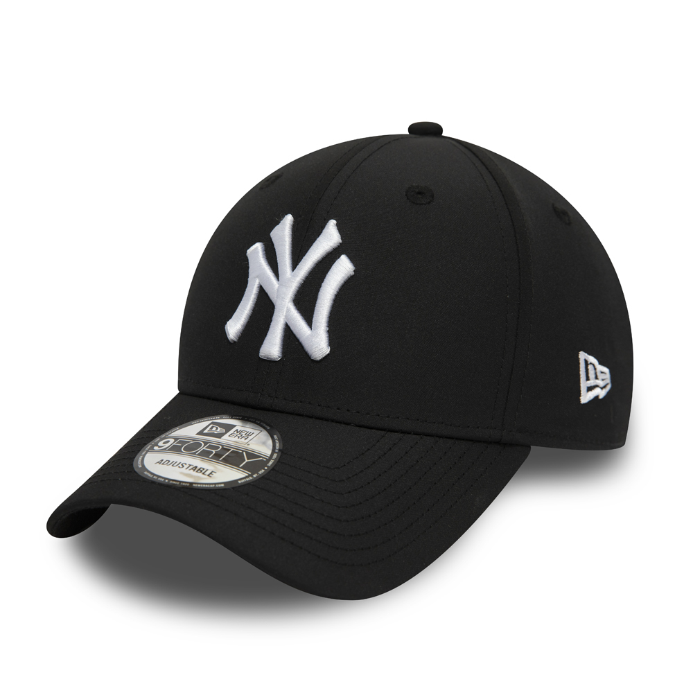 New York Yankees Tech Fabric Black 9FORTY Cap
