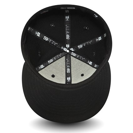 Pittsburgh Steelers Team Tonal Black 59FIFTY Cap