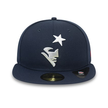 New England Patriots Team Tonal Navy 59FIFTY Cap
