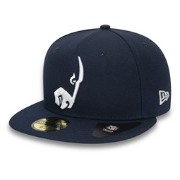 Casquette 59FIFTY Team Tonal Los Angeles Rams, bleu marine