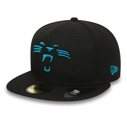Carolina Panthers Team Tonal Black 59FIFTY Cap
