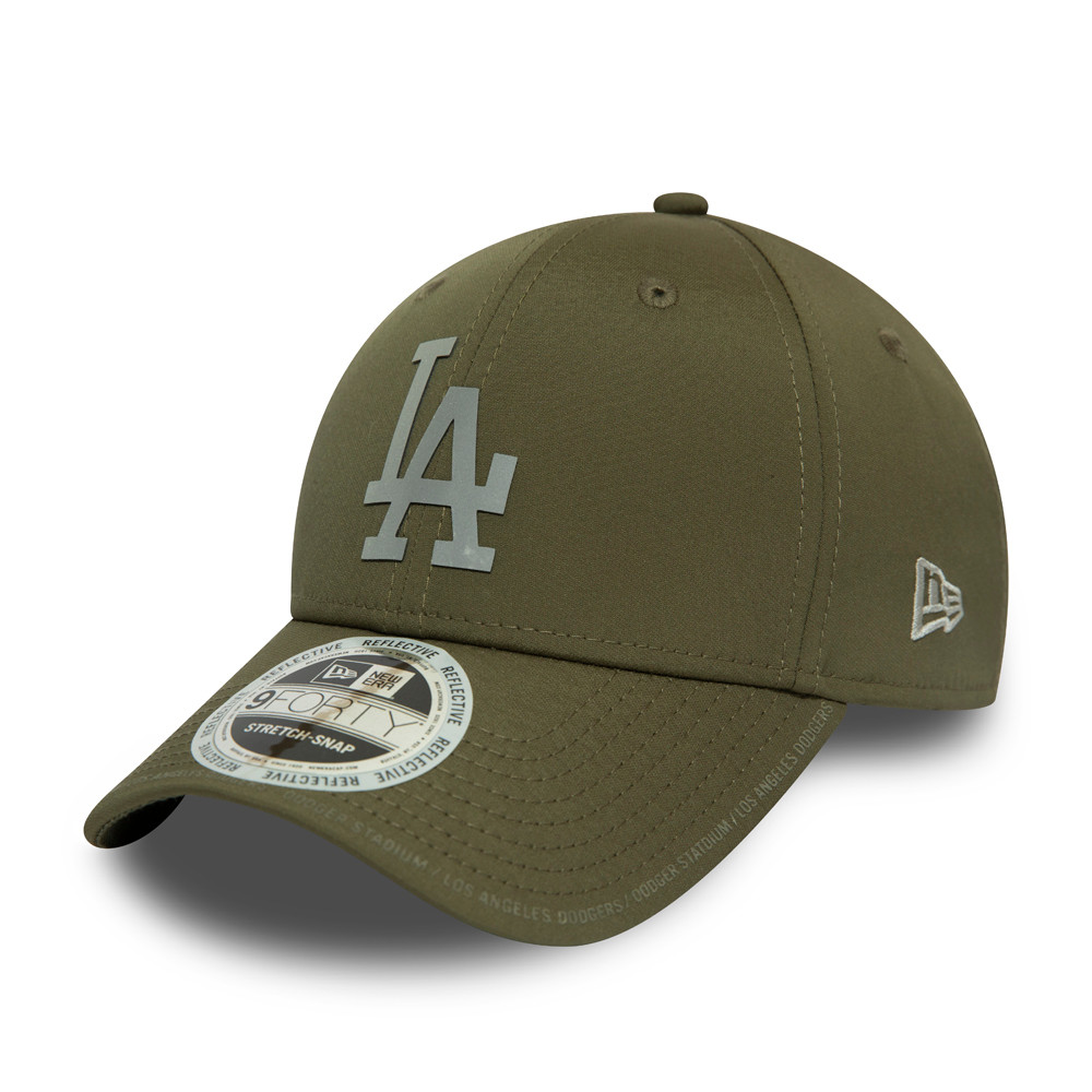 Los Angeles Dodgers Reflective Performance Stretch Snap 9FORTY Cap