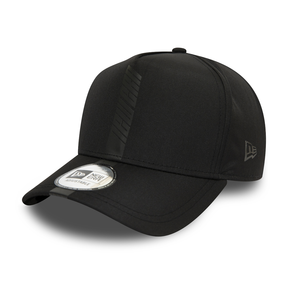 New Era Contemporary Black Trucker