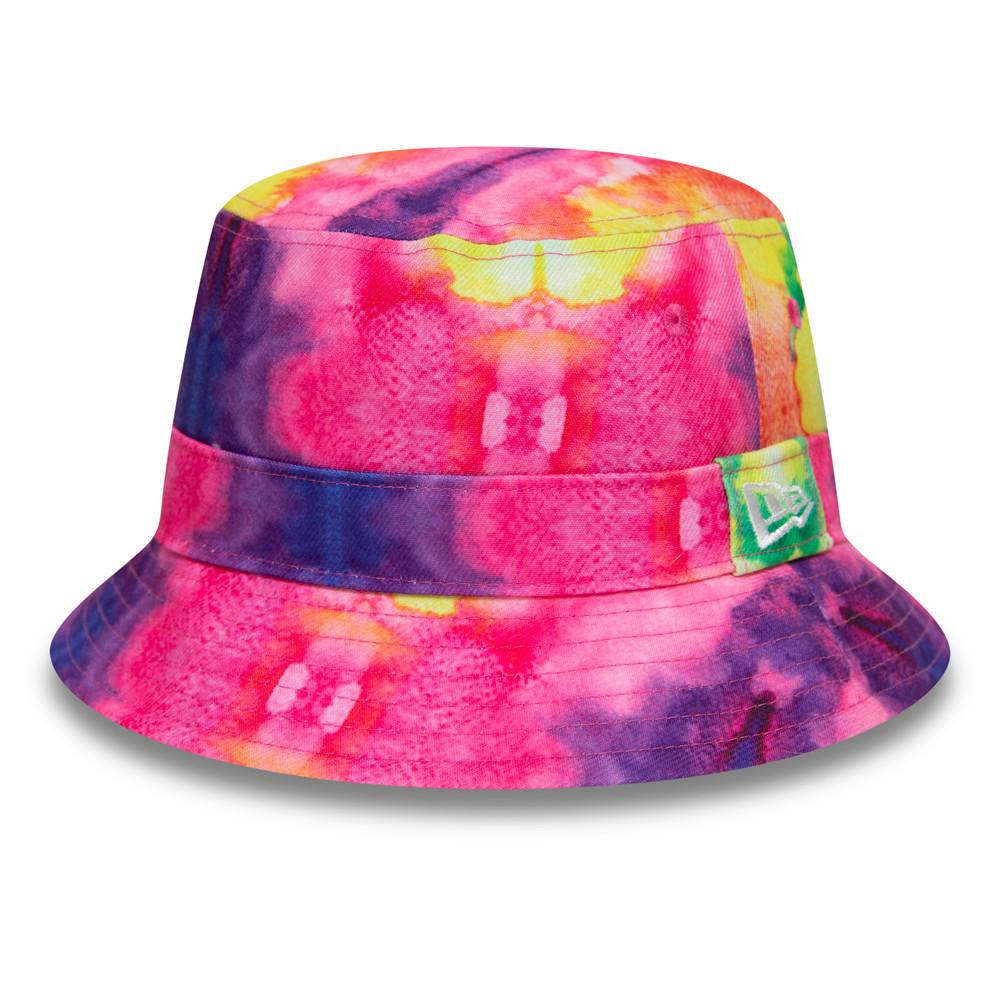 New Era Tie Dye Multi Bucket