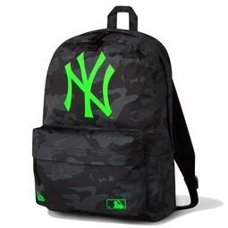 Mochila petate New York Yankees Camo, negro