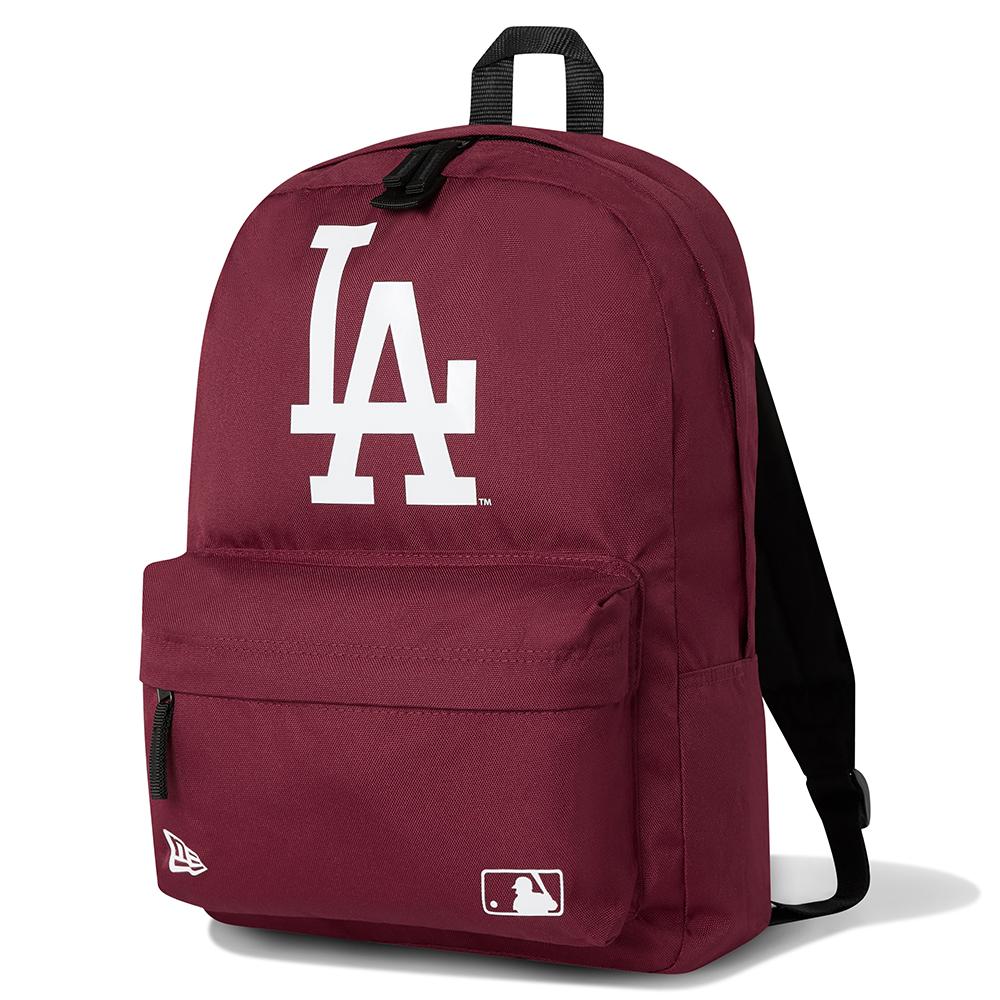 Mochila petate Los Angeles Dodgers, rojo