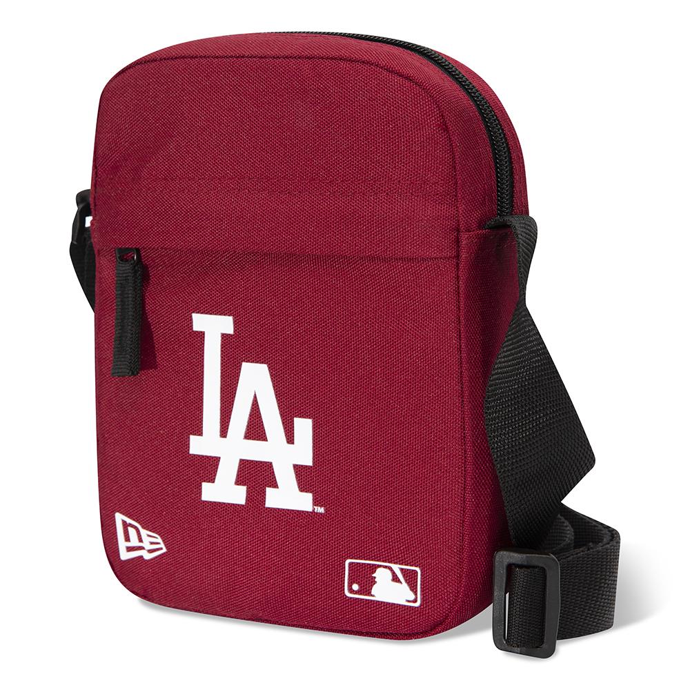 Bolso bandolera Los Angeles Dodgers, granate