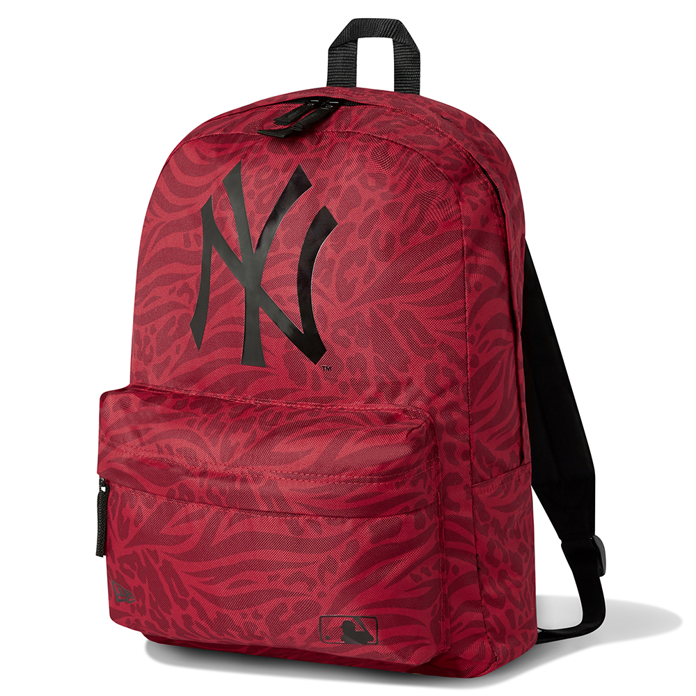 New York Yankees All Over Print Red Rucksack