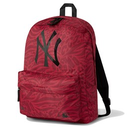 Mochila petate New York Yankees All Over Print, rojo