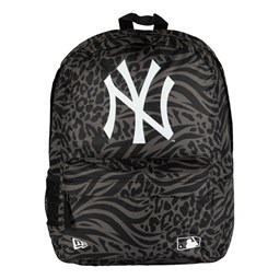 Mochila petate New York Yankees All Over Print, negro
