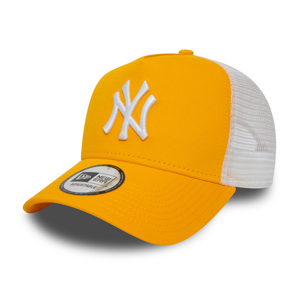 Gorra trucker New York Yankees Essential, amarillo