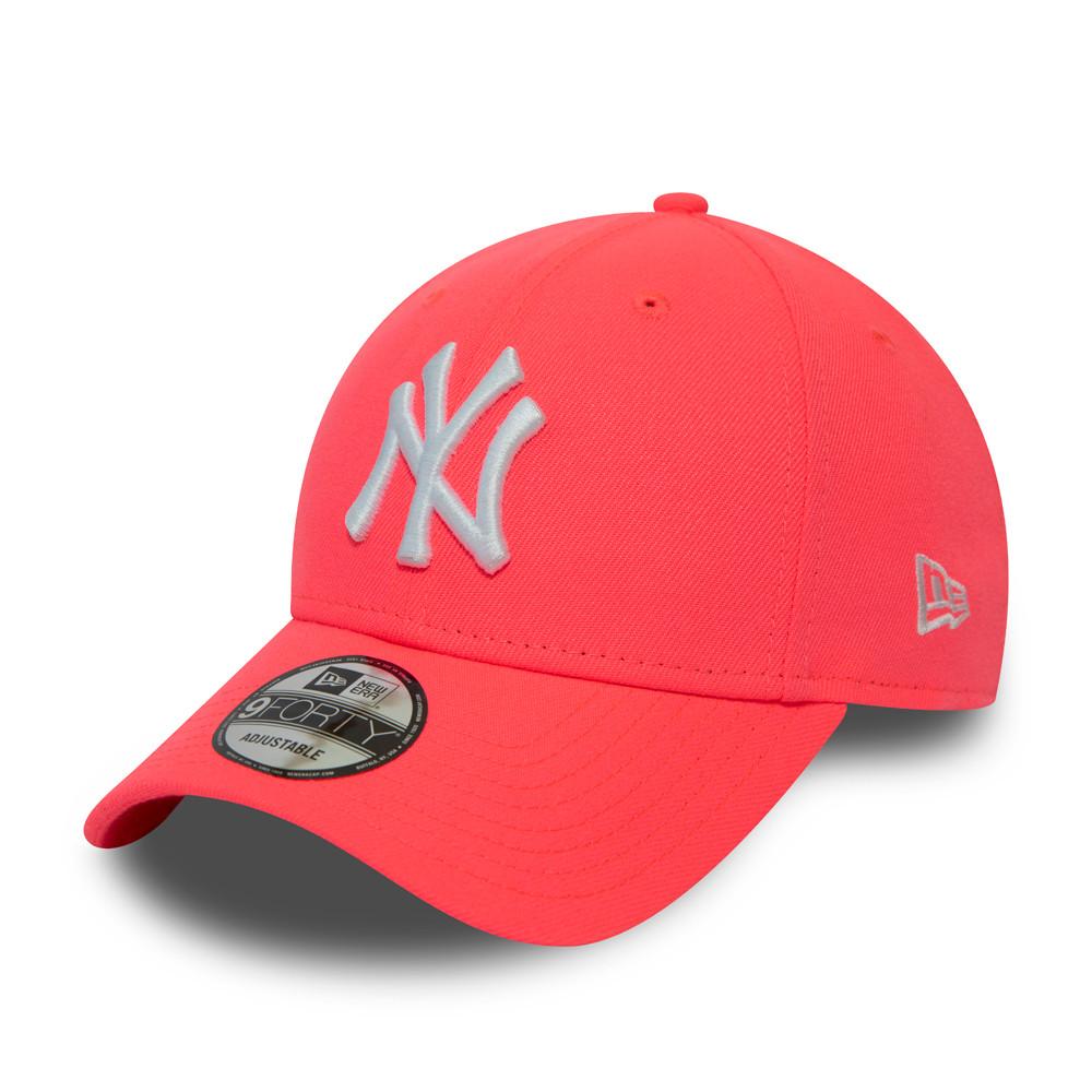 Gorra New York Yankees Neon 9FORTY, rosa