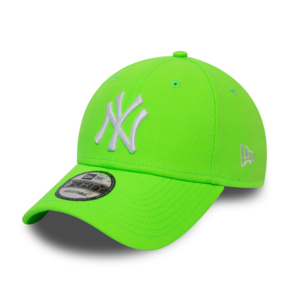 Cappellino New York Yankees Neon 9FORTY verde