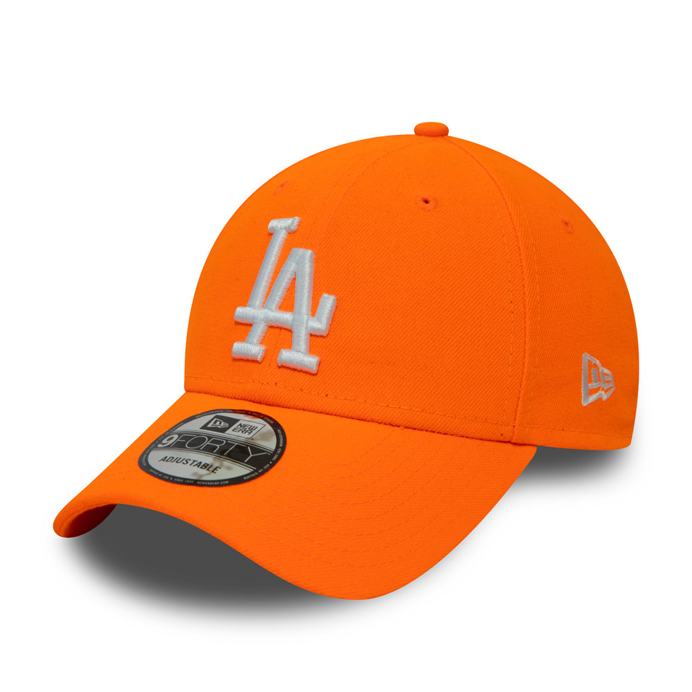 Cappellino Los Angeles Dodgers Neon 9FORTY arancione