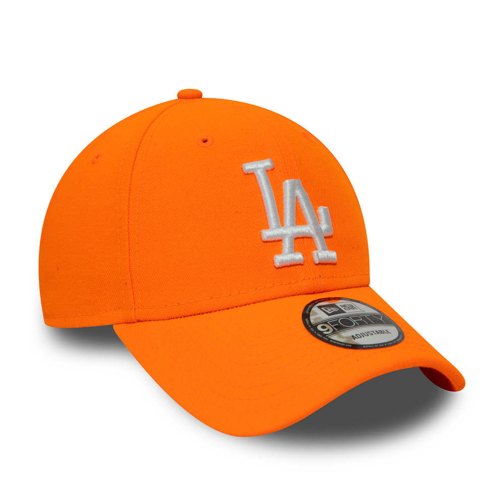 Gorra Los Angeles Dodgers Neon 9FORTY, naranja