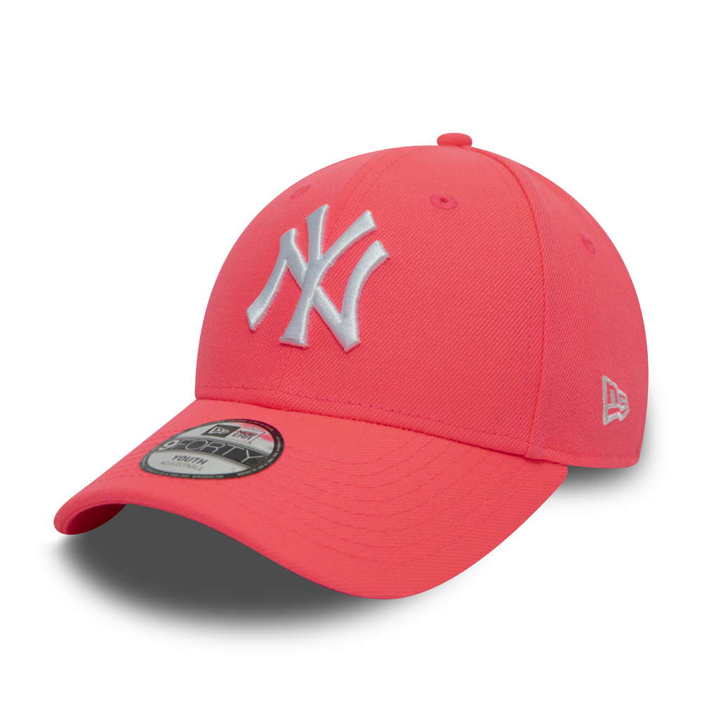 Casquette New York Yankees 9FORTY, enfant, rose fluo