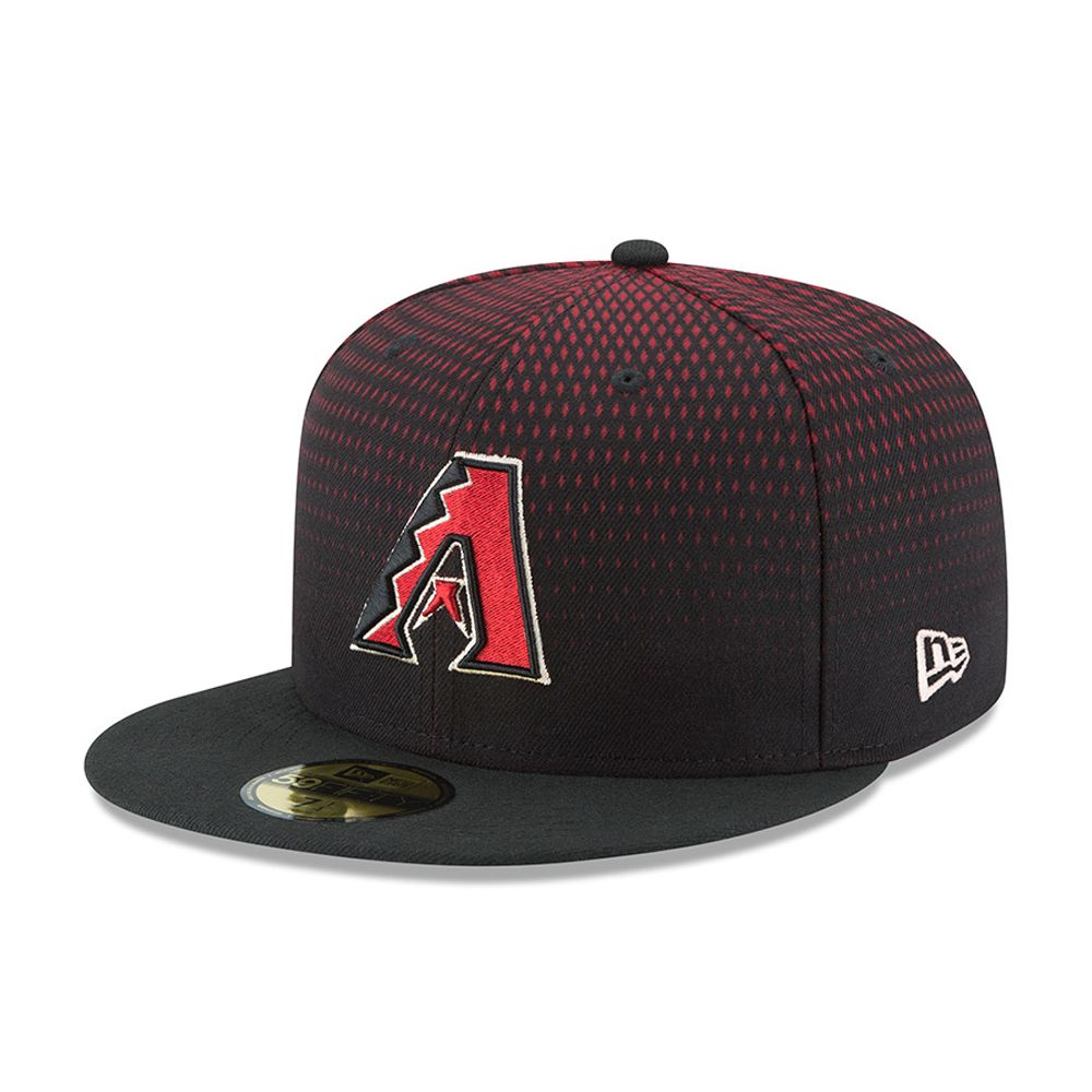 78d3ab4df0b12 Arizona Diamondbacks Authentic On-Field Game 59FIFTY negro
