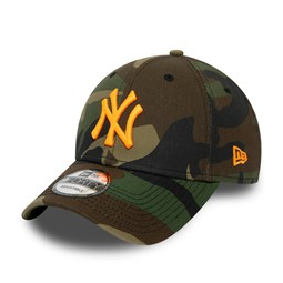 New York Yankees Neon Logo Camo 9FORTY Cap