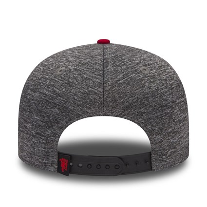 Manchester United Pop Piping 9FIFTY Grey Snapback