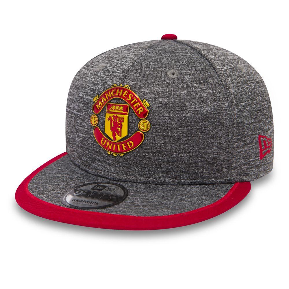 9FIFTY Snapback – Manchester United – Grau/Paspelierung in Kontrastfarbe