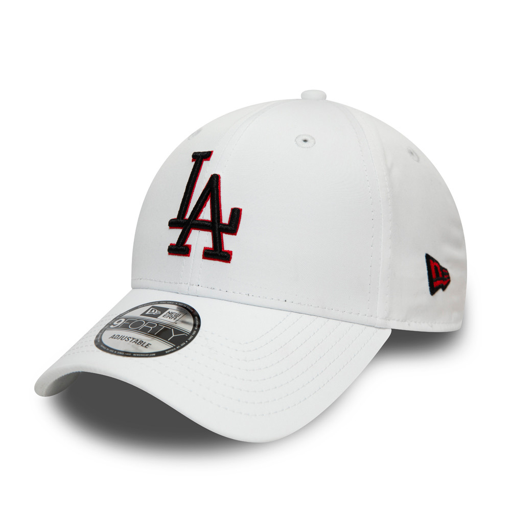 Gorra Los Angeles Dodgers Snake 9FORTY, blanco