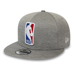 NBA Logo Shadow Tech Grey 9FIFTY Snapback Cap