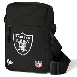 Las Vegas Raiders Black Side Bag