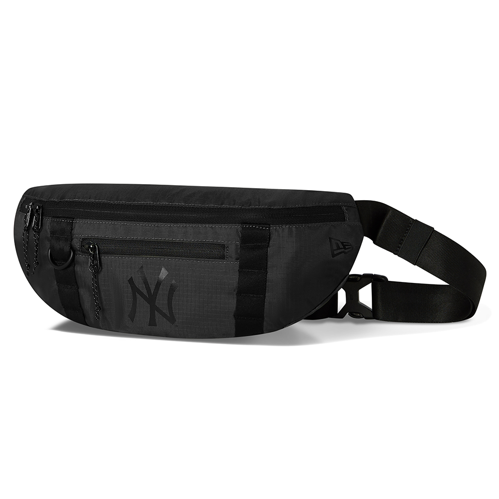 New York Yankees All Black Light Waist Bag