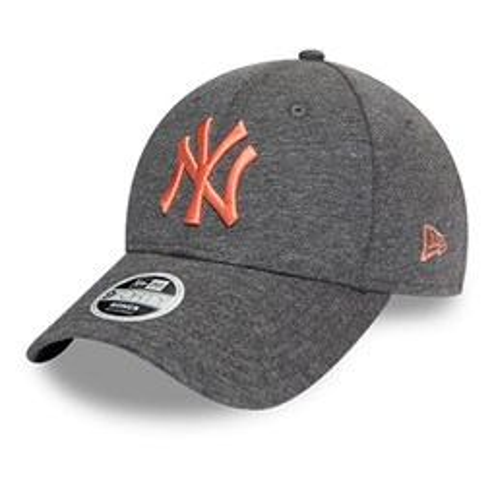 New York Yankees Womens Pink Logo Grey 9FORTY Cap