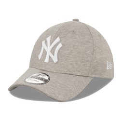 Gorra New York Yankees Jersey 9FORTY, gris claro