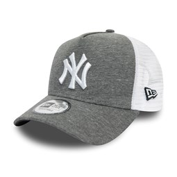 A Frame Trucker aus Jersey in Grau – New York Yankees
