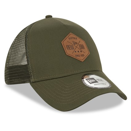 New Era Patch Khaki A Frame Trucker