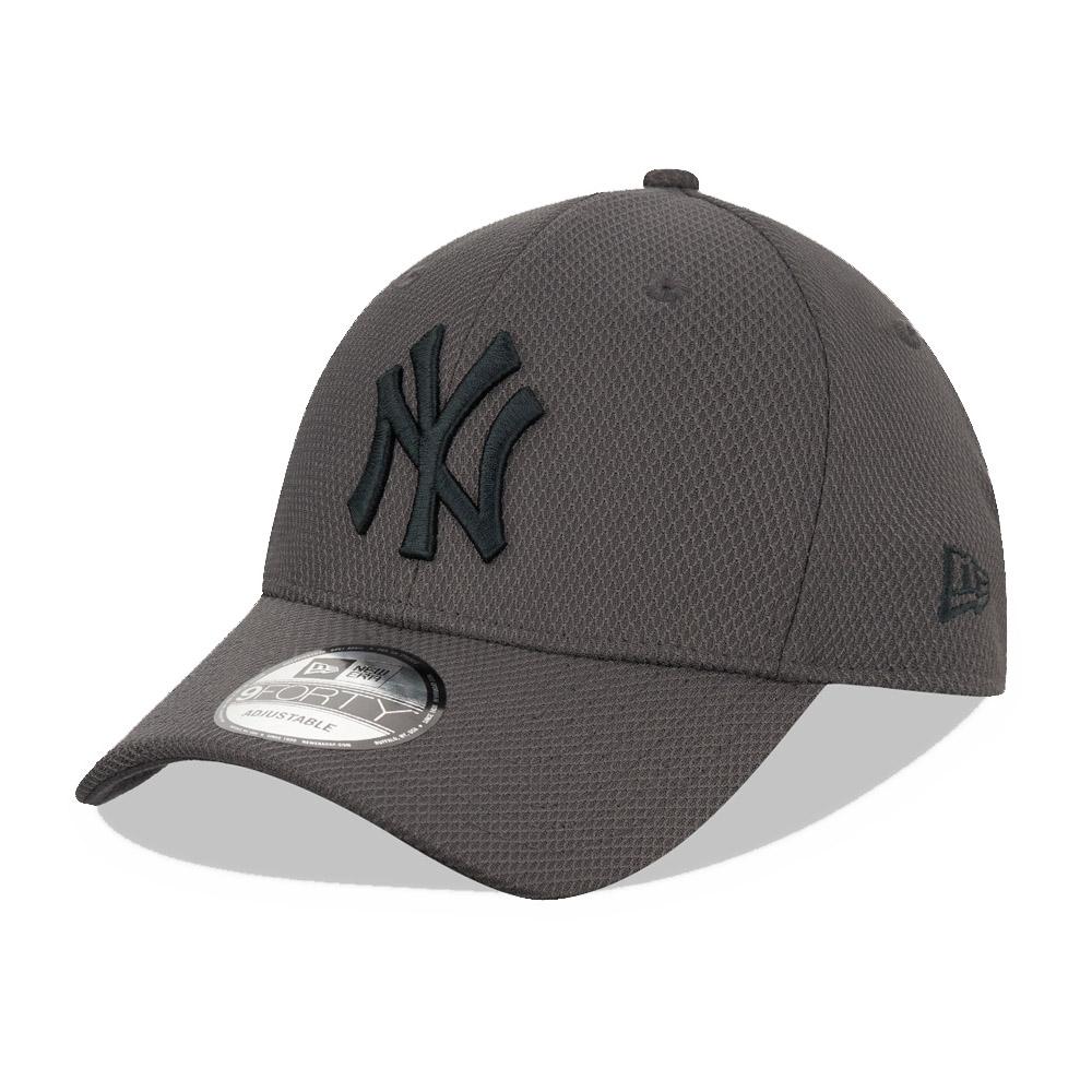 New York Yankees – 9FORTY-Kappe – Grau