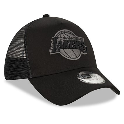 Los Angeles Lakers Tonal Black A Frame Trucker