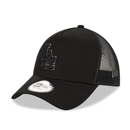 Los Angeles Dodgers Tonal Black A Frame Trucker