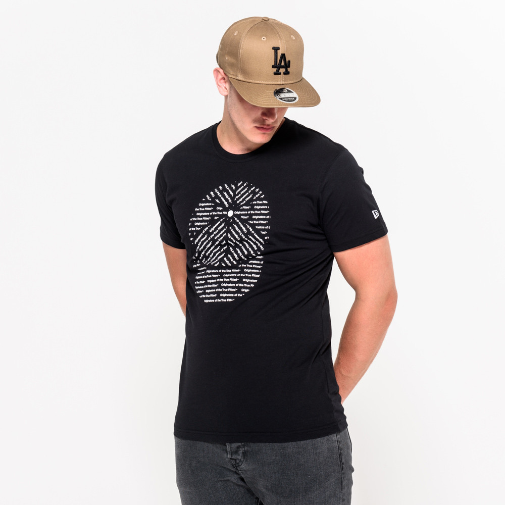 New Era Originators – T-Shirt in Schwarz
