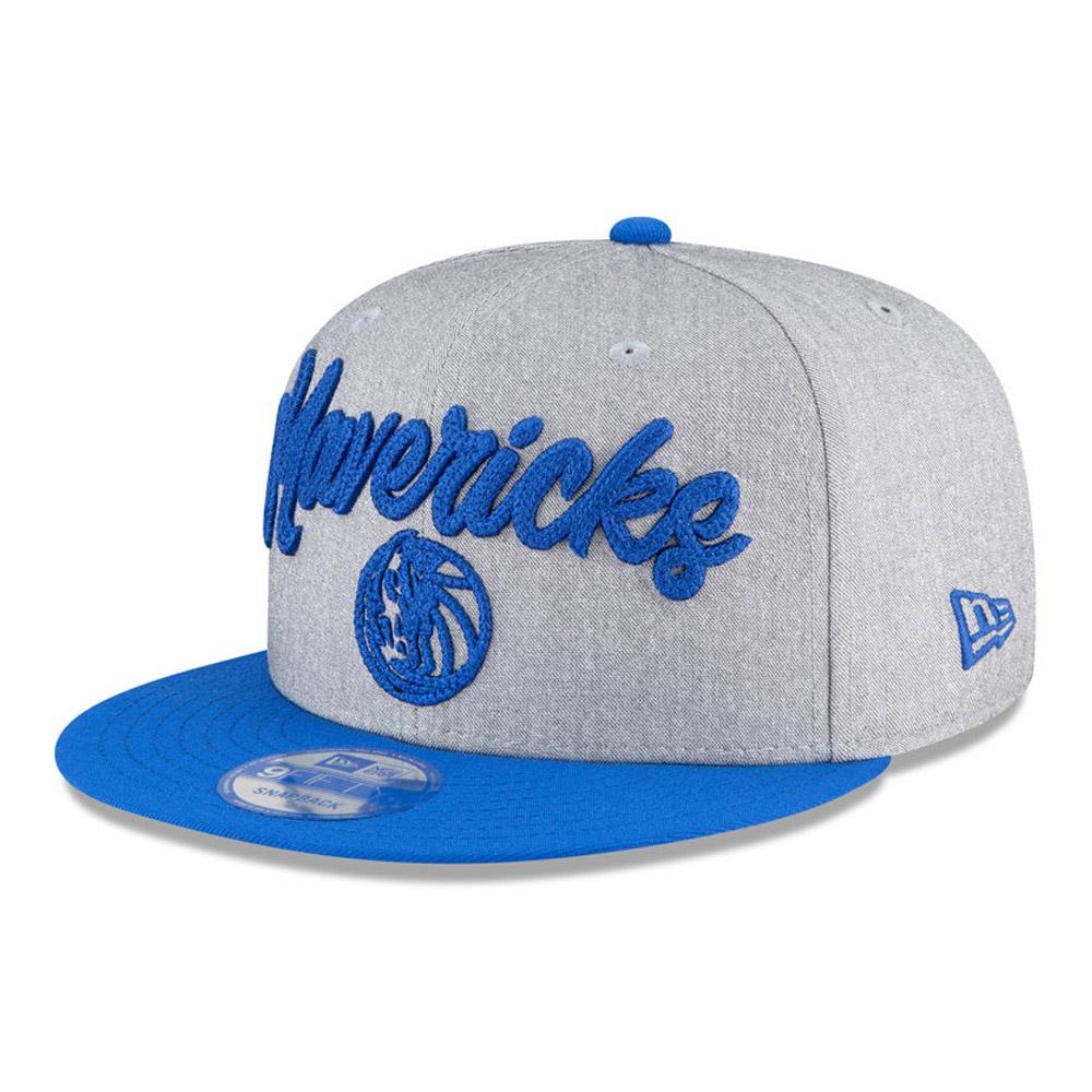 Cappellino Dallas Mavericks NBA Draft 9FIFTY grigio