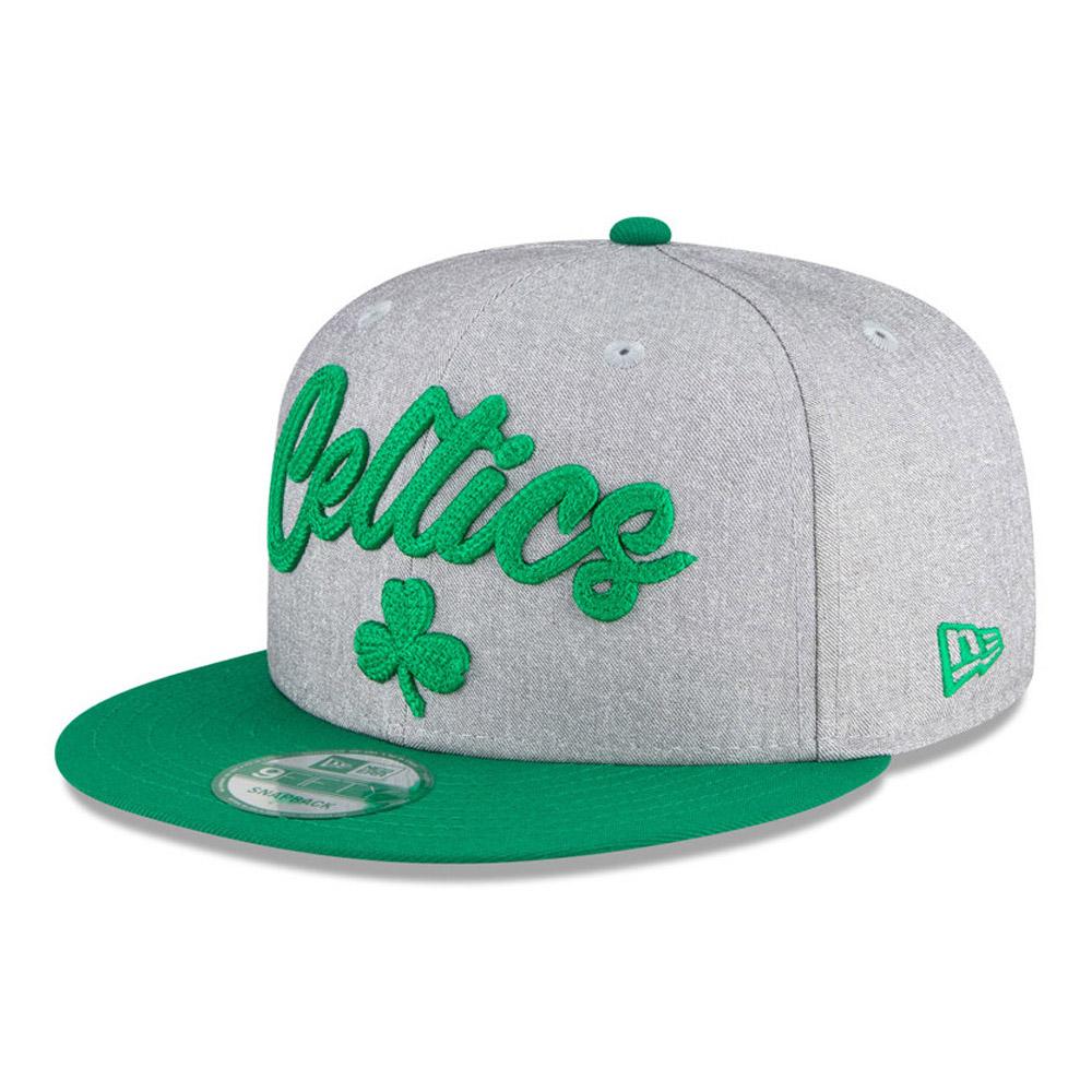 Cappellino Boston Celtics NBA Draft 9FIFTY grigio