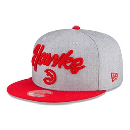Gorra Atlanta Hawks NBA Draft 9FIFTY gris