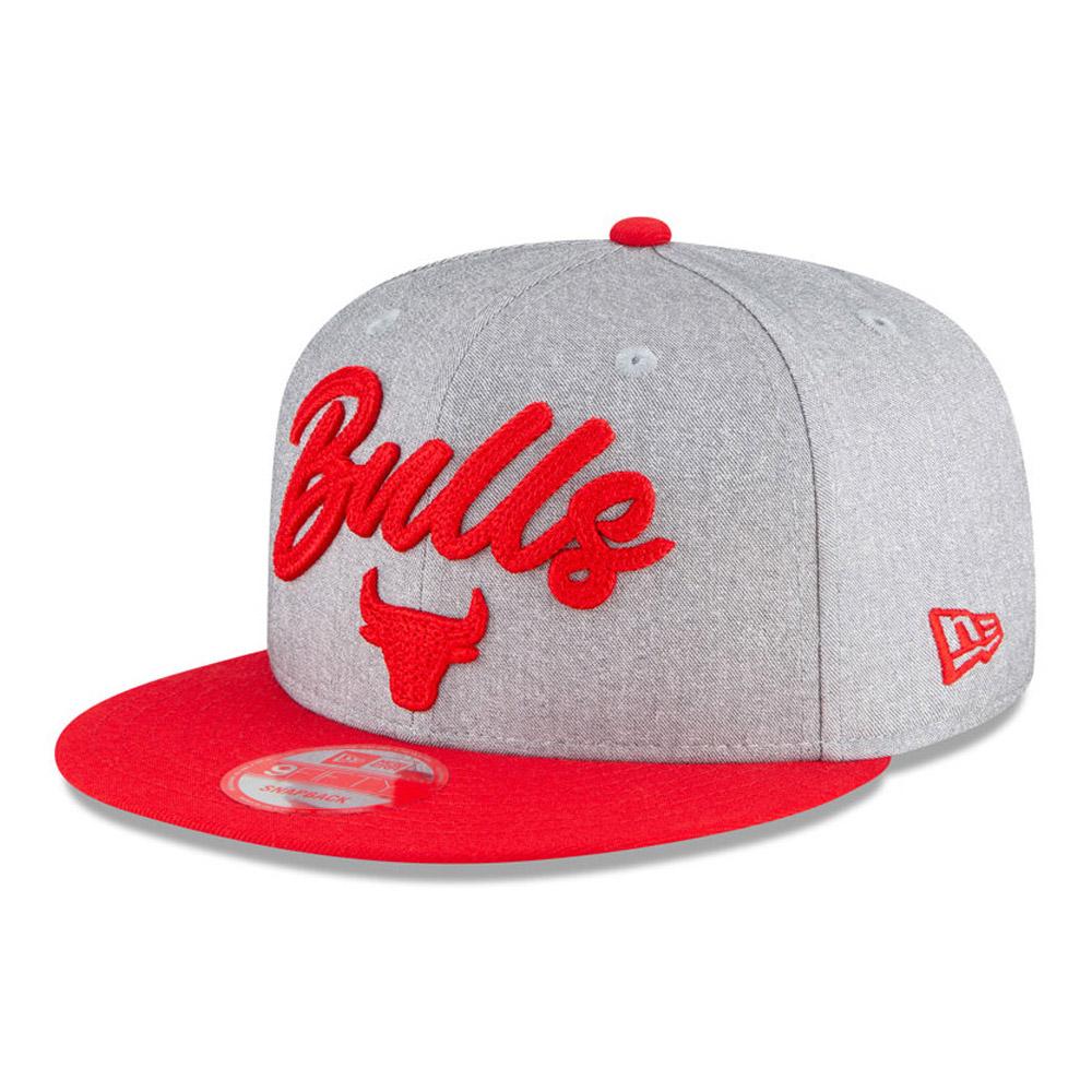 Gorra Chicago Bulls NBA Draft 9FIFTY gris