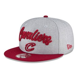 Cleveland Cavaliers NBA Draft Grey 9FIFTY Cap