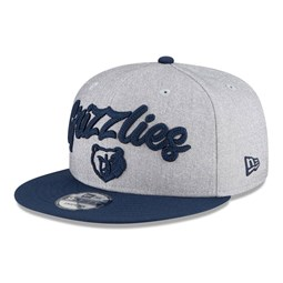 Memphis Grizzlies NBA Draft Grey 9FIFTY Cap