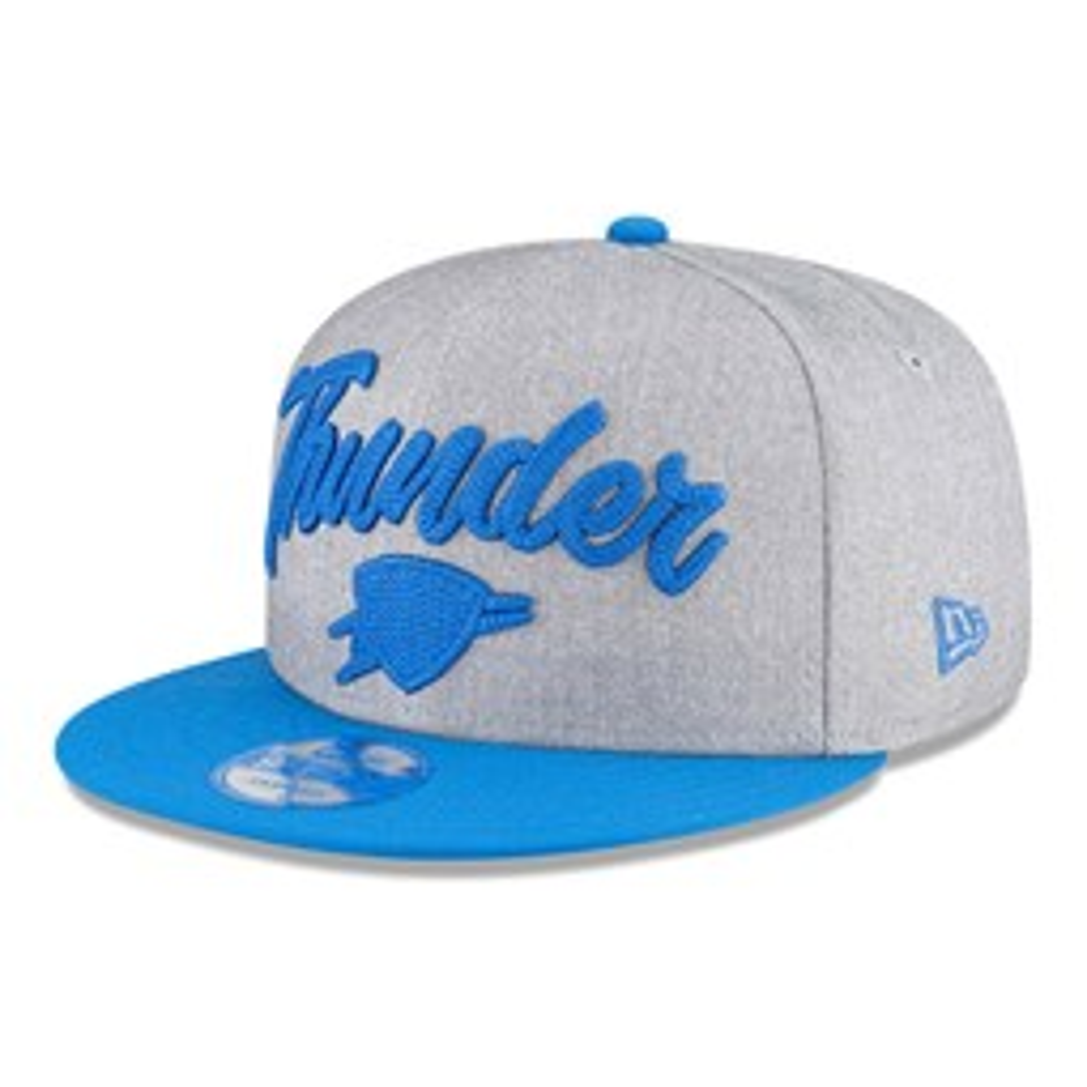 Gorra Oklahoma City Thunder NBA Draft 9FIFTY gris