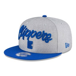 Los Angeles Clippers NBA Draft Grey 9FIFTY Cap