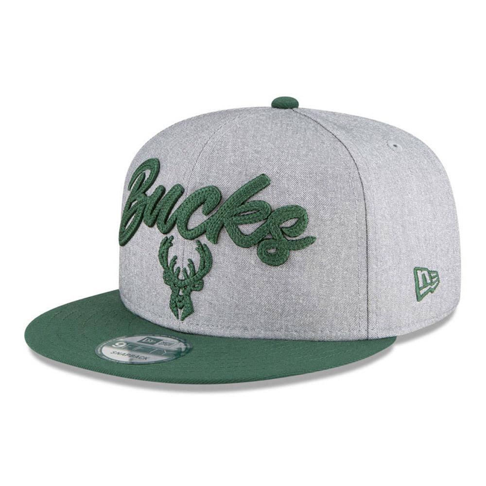 Cappellino Milwaukee Bucks NBA Draft 9FIFTY grigio