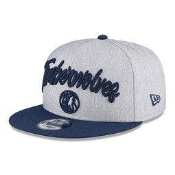 Minnesota Timberwolves NBA Draft Grey 9FIFTY Cap